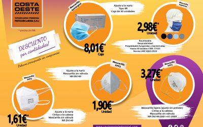 Mascarillas reutilizables, quirúrgicas, FFP2…