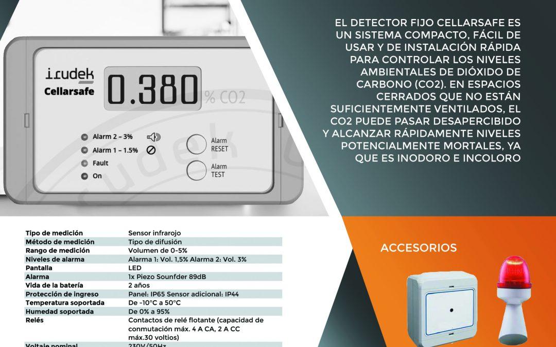 Detector Dióxido de Carbono