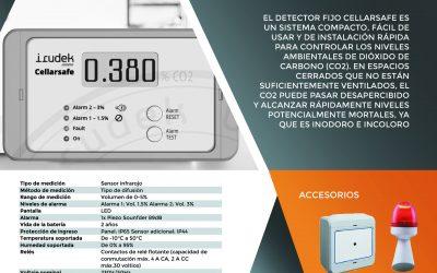 Detector de Dióxido de Carbono (CO2)