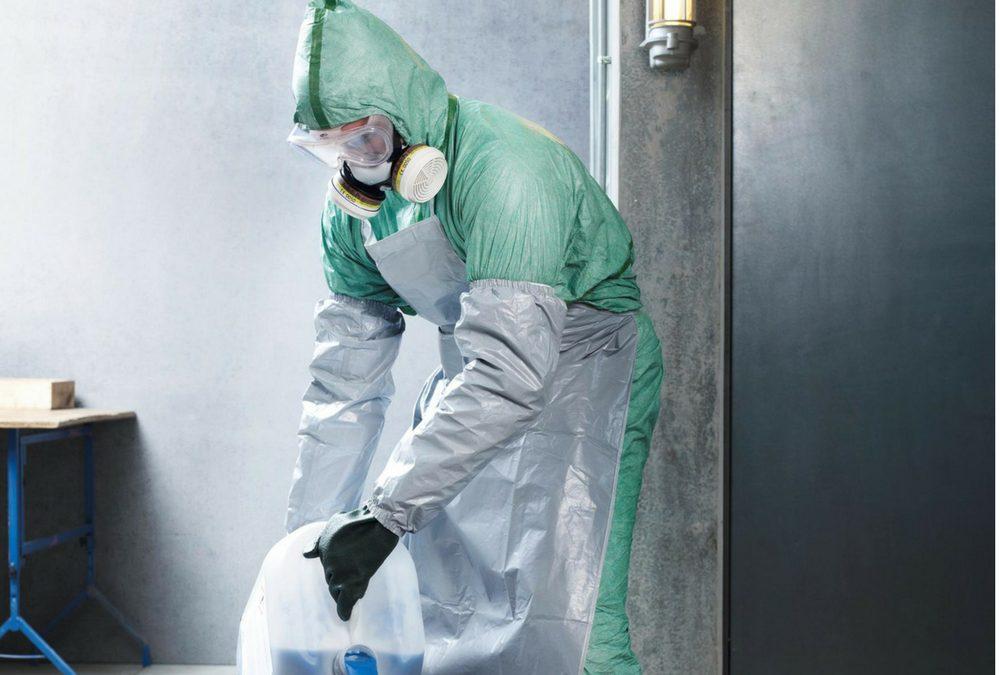 Equipos de Protección Individual para manejar productos fitosanitarios