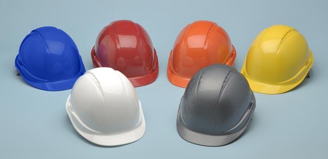 Dime qué color de casco de seguridad usas y te diré a qué te dedicas
