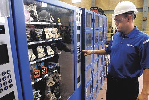 5 razones para tener máquinas expendedoras de EPIs